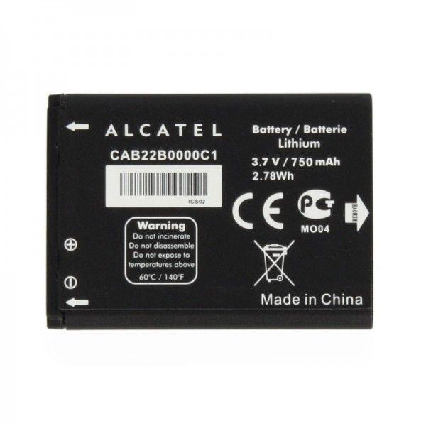 Accesorii Gsm Acumulator Alcatel One Touch 10 30/1030D (GINGER) /  One Touch 20 10/2010D CAB22B0000C1 750mAh Original