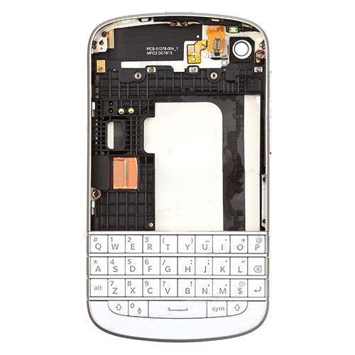 Accesorii Gsm Carcasa Completa BlackBerry Q10 Originala Alba