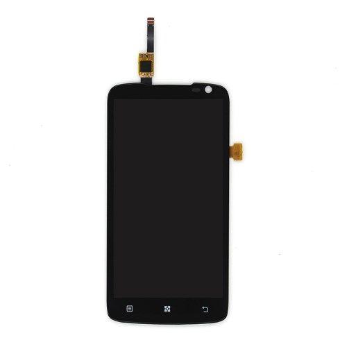 Accesorii Gsm Display Cu Touchscreen Si Geam Lenovo S820 Original Negru