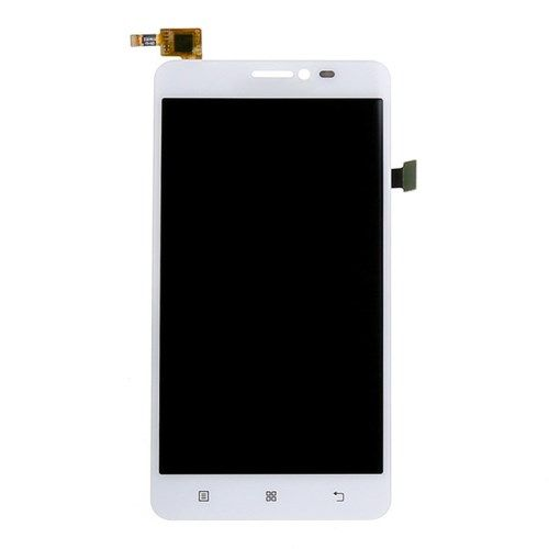 Accesorii Gsm Display Cu Touchscreen Si Geam Lenovo S850 Original Alb
