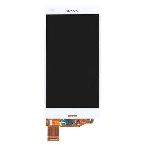Accesorii Gsm Display Cu Touchscreen Sony Xperia Z3 Compact D5803 D5833 M55w Original Alb