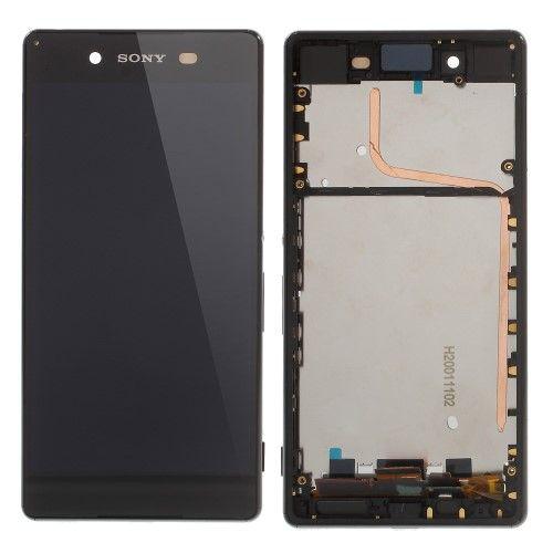 Accesorii Gsm Display Sony Xperia Z3+ E6553 / Xperia Z4 Cu Touchscreen Si Rama Negru