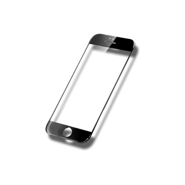 Accesorii Gsm Geam Protectie Display iPhone 6 6s Acoperire Completa Negru