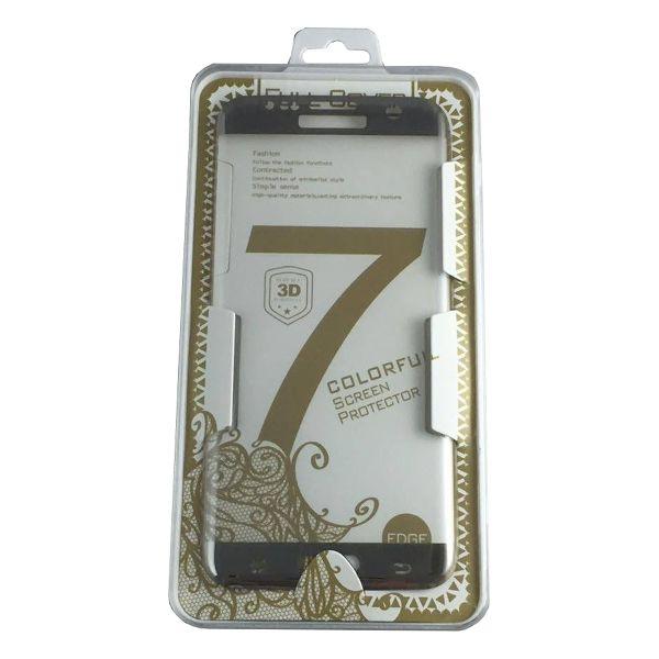 Accesorii Gsm Geam Protectie Display Samsung Galaxy S6 Edge Plus G928 PRO+ Acoperire Completa Argintiu