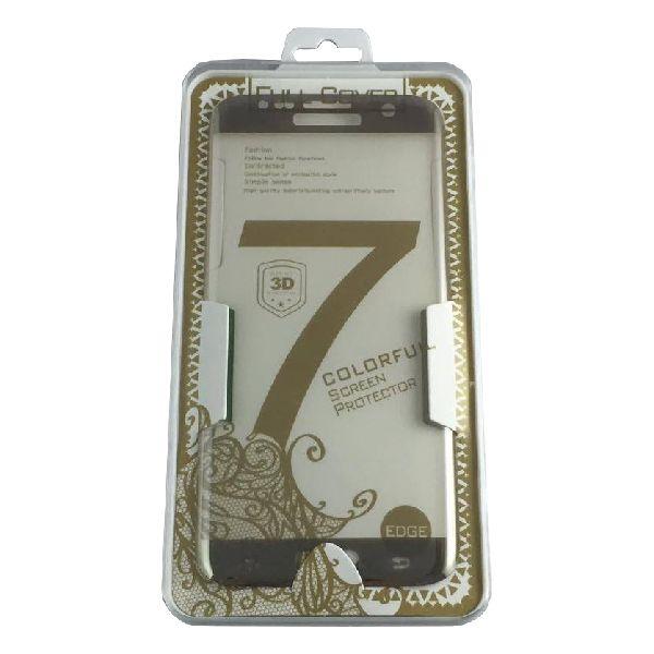 Accesorii Gsm Geam Protectie Display Samsung Galaxy S6 Edge Plus G928 PRO+ Acoperire Completa Roz