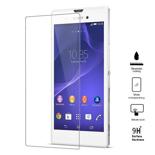 Accesorii Gsm Geam Protectie Display Sony Xperia T3 D5102 D5103 D5106 Tempered