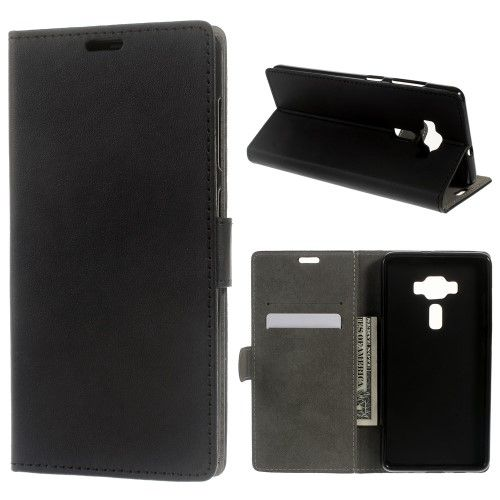 Accesorii Gsm Husa Flip Cu Stand Asus Zenfone 3 Deluxe ZS570KL Neagra