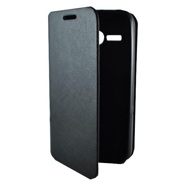 Accesorii Gsm Husa Flip Cu Stand Huawei AScend Y220 New Fashion Neagra