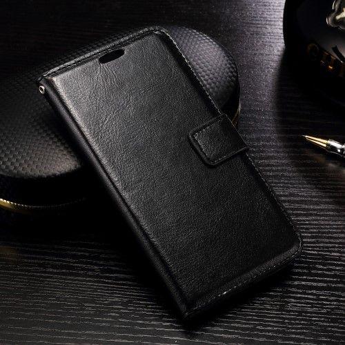 Accesorii Gsm Husa Flip Cu Stand LG G5 Crazy Horse Series Neagra