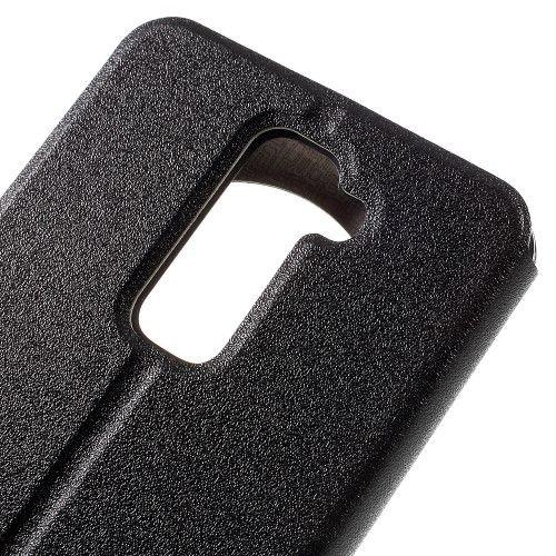 Accesorii Gsm Husa Flip Cu Stand LG Stylus 2 / G Stylo 2 Hollow Series Neagra