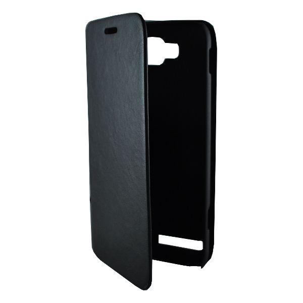 Accesorii Gsm Husa Flip Cu Stand Samsung Ativ S I8750 New Fashion Neagra