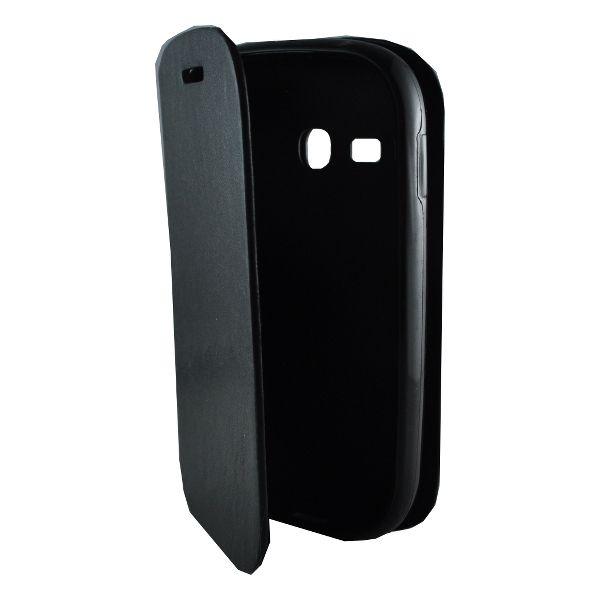Accesorii Gsm Husa Flip Cu Stand Samsung Galaxy Fame Lite S6790 New Fashion Neagra