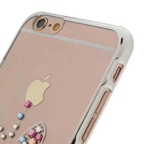 Accesorii Gsm Husa iPhone 6 6s Fluture Swarovski