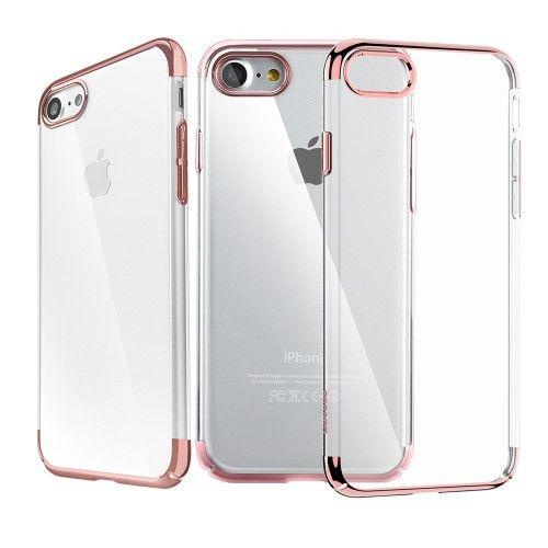 Accesorii Gsm Husa iPhone 7 Dura BASEUS Glitter Series Roz Gold