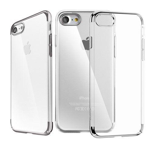 Accesorii Gsm Husa iPhone 7 Dura BASEUS Glitter Series Transparenta