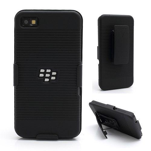 Accesorii Gsm Husa Multifunctionala BlackBerry Z10 Cu Stand Neagra