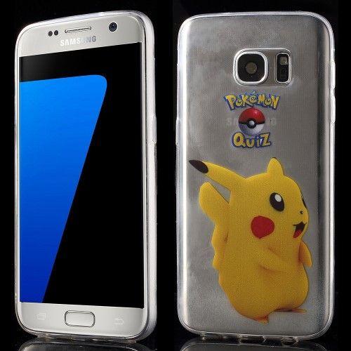 Accesorii Gsm Husa Samsung Galaxy S7 G930 Pokemon Go Series Pikachu