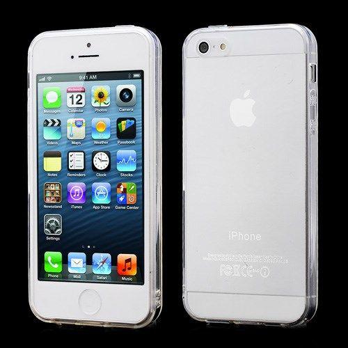 Accesorii Gsm Husa TPU Gel iPhone 5 5s Transparenta