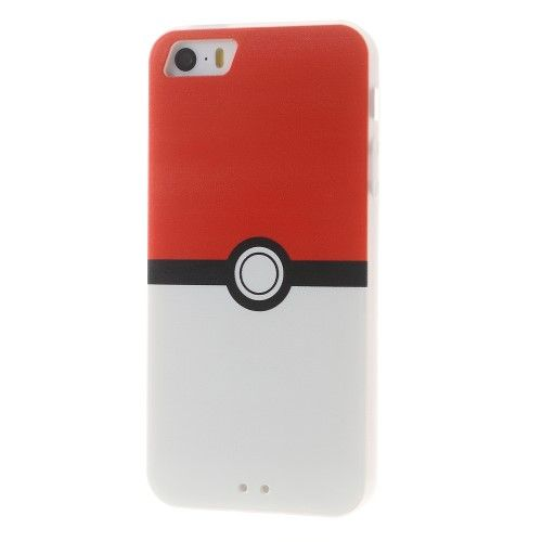 Accesorii Gsm Husa TPU iPhone 5 5s SE Pokemon GO Pokeball Series