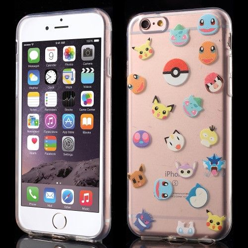 Accesorii Gsm Husa TPU iPhone 6 6s Pokemon GO Series