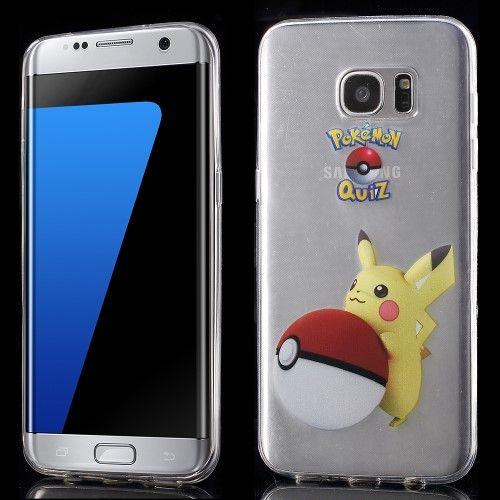 Accesorii Gsm Husa TPU Samsung Galaxy S7 edge G935 Pokemon Go Series