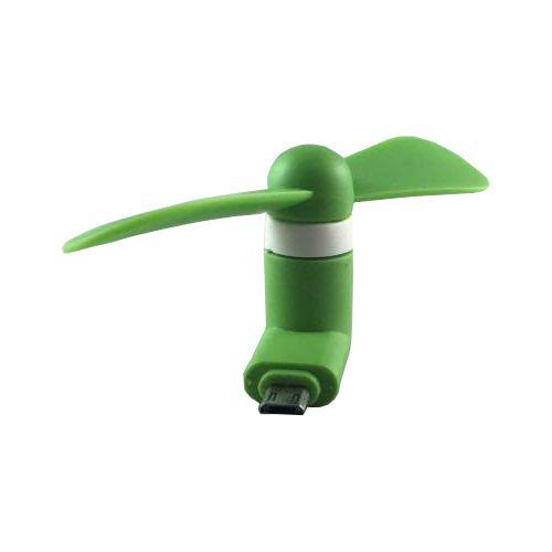 Accesorii Gsm Mini Ventilator Portabil iPhone iPad iPod Verde