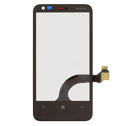 Accesorii Gsm Touchscreen Cu Rama Nokia Lumia 620 Original Negru