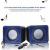 Boxa Portabila Cu Conexiune USB Samsung iPhone Allview Huawei Albastra