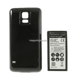Acumulator Samsung Galaxy S5 G900 Cu Capac Baterie Spate Negru
