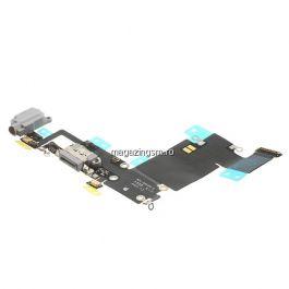 Banda Flex Conector Incarcare Si Jack Audio Apple iPhone 6s Plus Gri