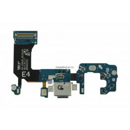 Banda Flex Cu Conector Incarcare Date Si Microfon Samsung Galaxy S8 G950 Original Complet