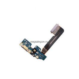 Banda Flex Placa Circuit Conector Incarcare Jack Audio si Microfon HTC One M9