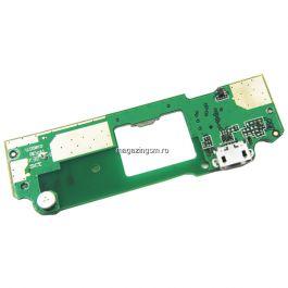 Banda Flex Placa Circuit Conector Incarcare Si Microfon HTC Desire 620