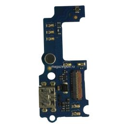 Banda Flex Placa Circuit Conector Incarcare Si Microfon Huawei Y5 II Originala