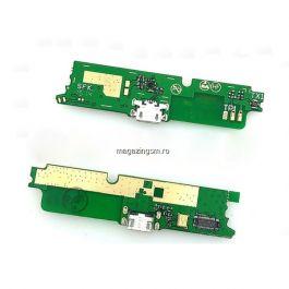 Banda Flex Placa Circuit Conector Incarcare Si Microfon Lenovo A859