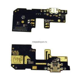 Banda Flex Placa Circuit Conector Incarcare Si Microfon Xiaomi Redmi 5 Plus