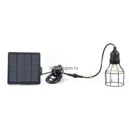 Bec LED Cu Panou Solar Portabil