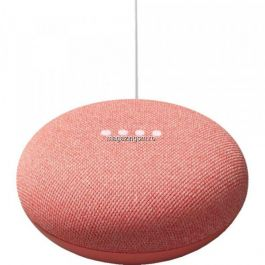 Boxa inteligenta Google Nest Mini, 2nd Gen, Coral