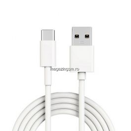 Cablu Date Si Incarcare Type C Huawei P20 Lite Alb