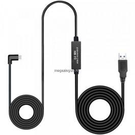 Cablu USB 3,0 Type C VR Link Pentru Oculus Quest 5m Negru