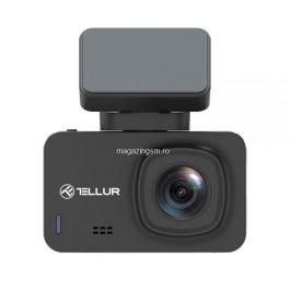 Camera Auto Tellur Dash Patrol DC3, 4K, GPS, Neagra