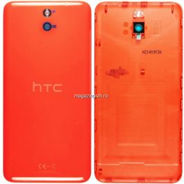 Capac baterie HTC Desire 610 Original Portocaliu