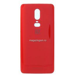Capac Baterie OnePlus 6 Rosu