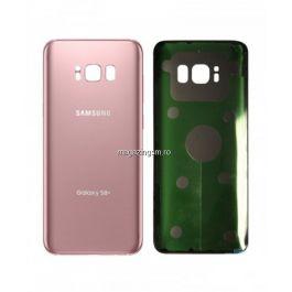 Capac Baterie Samsung Galaxy S8+ Plus G955 Roz Pink Original Complet cu Ornamente
