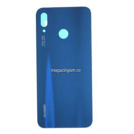 Capac Baterie Spate Cu Adeziv Sticker Huawei P20 Lite/Nova 3e Albastru