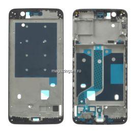 Carcasa Mijloc OnePlus 5 Neagra