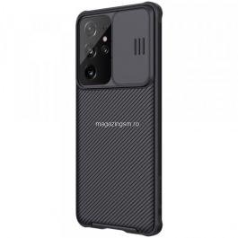 Husa telefon NILLKIN Samsung Galaxy S21 Ultra TPU cu protectie camera Neagra