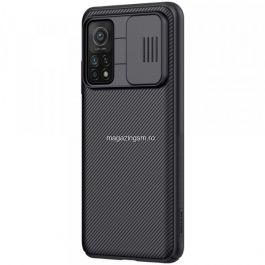 Husa telefon NILLKIN Xiaomi Mi 10T 5G / Mi 10T Pro 5G Dura Cu Protectie Camera Neagra