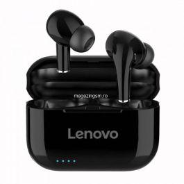Casti Bluetooth 5,0 Wireless Lenovo LP1S Negru HD Sound rezistente la apa compatibilitate universala
