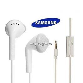 Casti Handsfree Samsung EHS61ASFWE Stereo Albe Originale